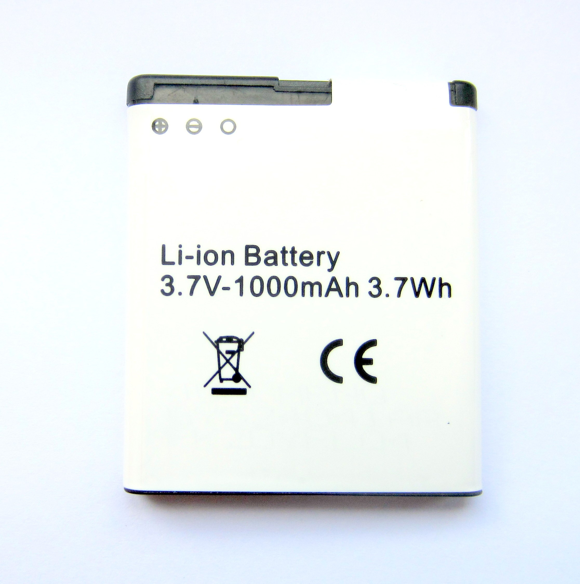SPARE 3.7V GPS LI-ION BATTERY 1000mAh