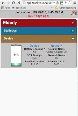 Track-My-Elderly-GPS-Tracker-Web-Interface-TY013-Device-Status