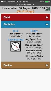 Track-My-Child-GPS-Tracker-Web-Interface-TY013-Device-Statistics