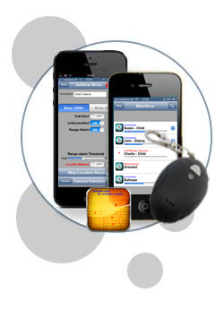 BLE Bluetooth Tag - Close Proximity for iPhone