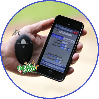 BLE-Bluetooth-Tag-app-in-hand-TY22
