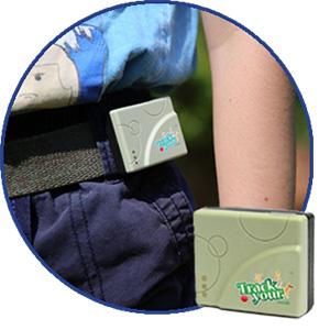 Child Wearing GPS Tracker