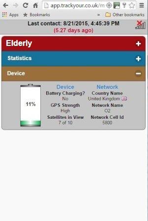 Track-My-Elderly-GPS-Tracker-Web-Interface-TY013-Device-Status