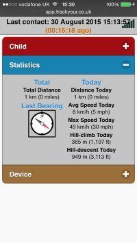 Track-My-Child-GPS-Tracker-Web-Interface-TY013-Device-Statistics
